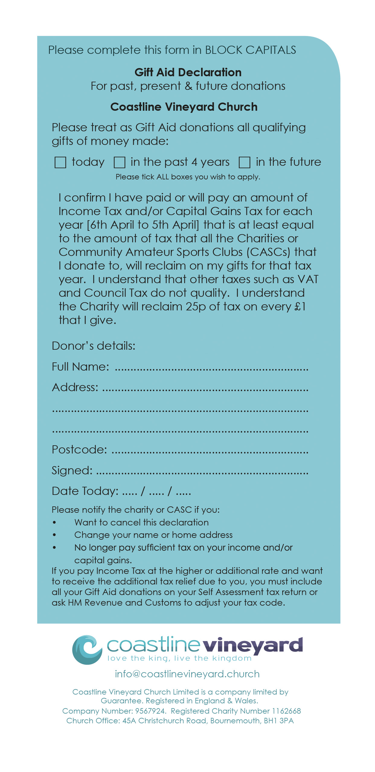 Gift aid claim reference number fax word template free lease coastline vineyard church bournemouth give giftaid give gift aid claim reference number gift aid claim reference number negle Image collections